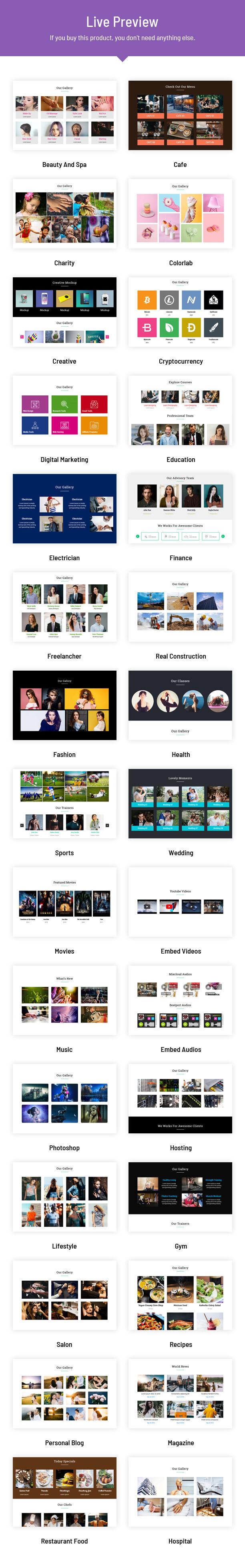 Portfolio Designer Live Preview