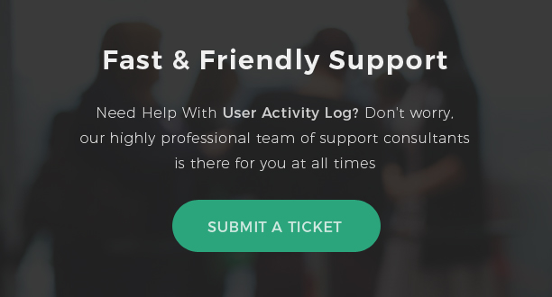 User Activity Log Pro Review and Ratings