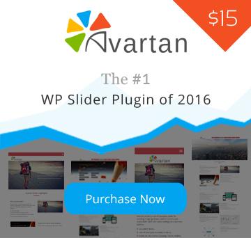 Avartan - Responsive Slider WordPress Plugin