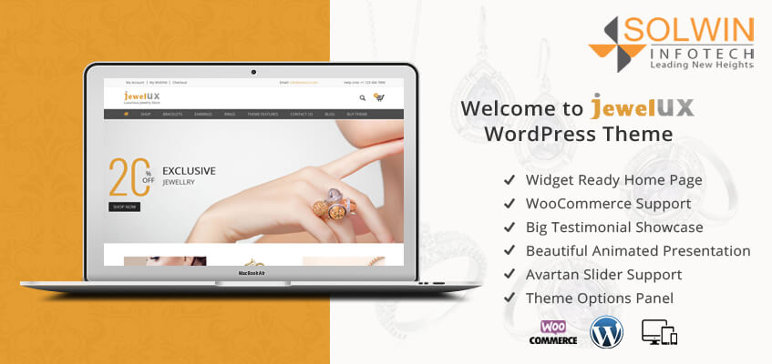 Welcome to JewelUX WordPress Theme