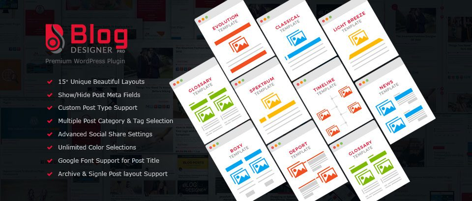 Blog Designer - Blog Layout Creation Tool