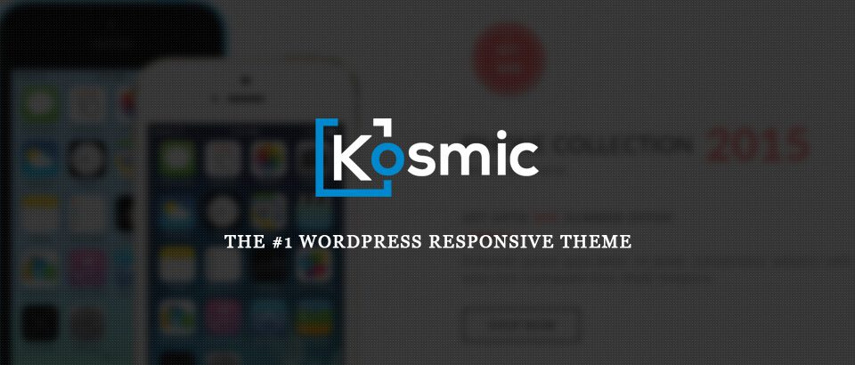 Kosmic WordPress Theme