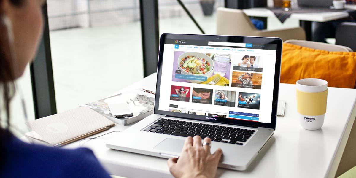Ybrant - News & Magazine Responsive WordPress Theme