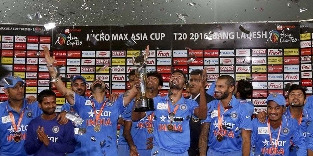 India Lift Title For Record Sixth Time