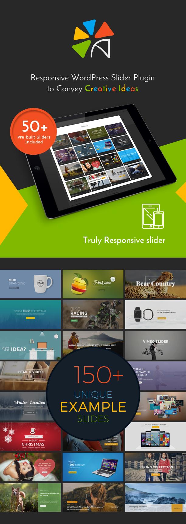 Best responsive WordPress slider plugin - Avartan slider
