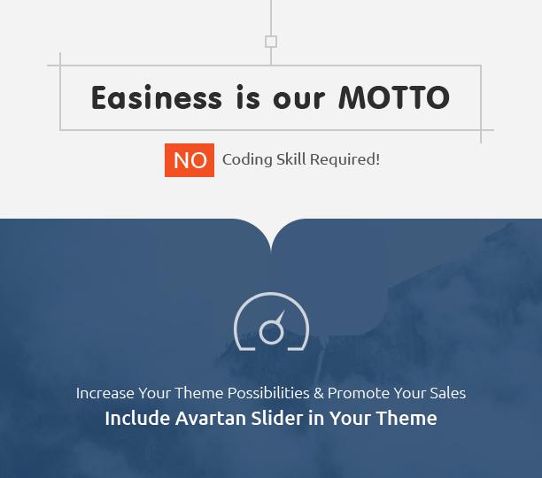 Easy Responsive WordPress slider Avartan Slider