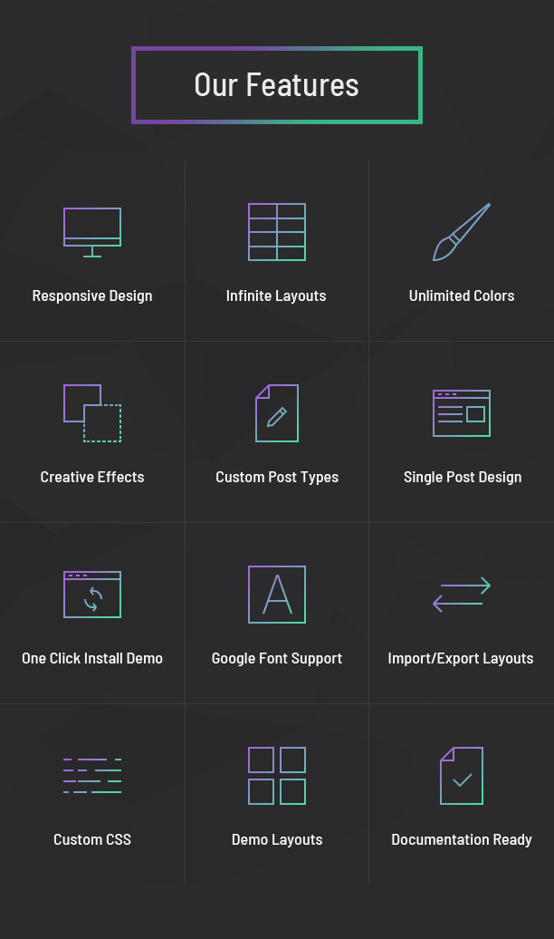 Portfolio Designer Features