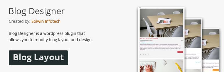 Blog Designer - WordPress Plugin