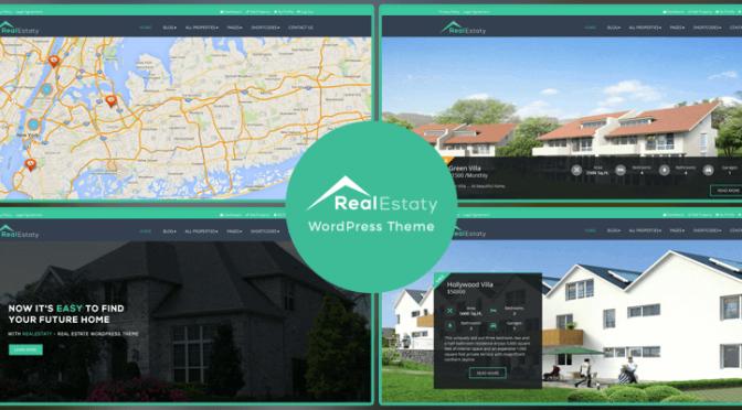RealEstaty - RealEstate WordPress Theme