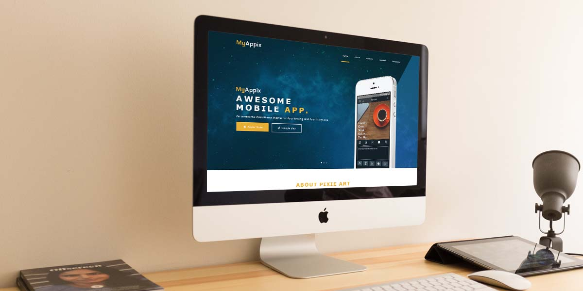 MyAppix - Premium Mobile Application WordPress Theme